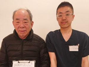 筋力低下と骨盤の歪み、左京区70代男性