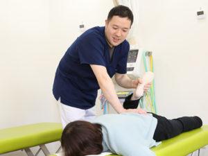 左京区で座骨神経痛施術