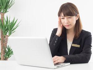 左京区でパソコンによる頭痛